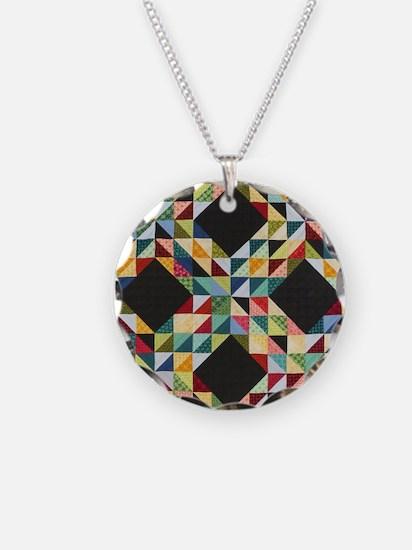 Quilt Patchwork Necklace
