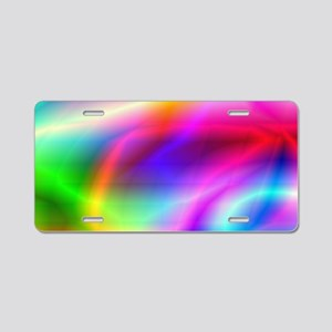 Colorful Style Aluminum License Plate