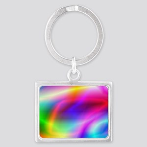 Colorful Style Landscape Keychain