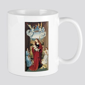 15th Centruy - Virgin and Child With Angels Mugs