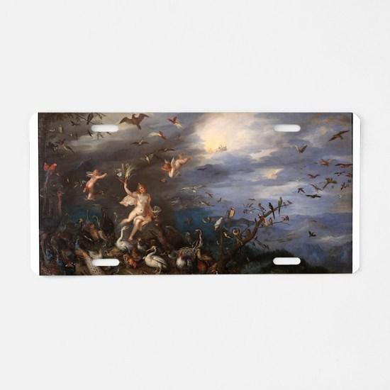 Jan Brueghel the Elder - Air - 1611 Aluminum Licen