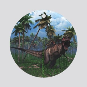 Tyrannosaurus 3 Ornament (Round)