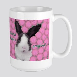 Easter bunny in pink Mugs