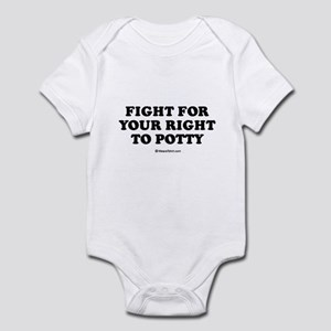 Fight for your right to potty / Baby Humor Infant
