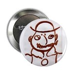 """Mr Bloom 2.25"""" Button (100 pack)"""