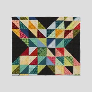 Quilt Patchwork Throw Blanket