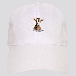Over the Hill Old Goat Humor Quote Hat