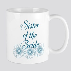 Blue Sister of the Bride Mugs