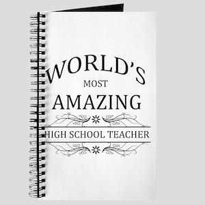 World's Most Amazing High School Teacher Journal