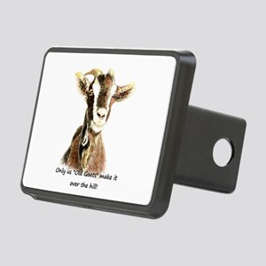 Over the Hill Old Goat Humor Quote Rectangular Hit