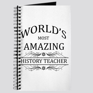 World's Most Amazing History Teacher Journal