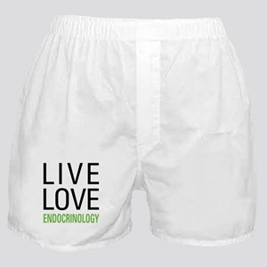 Live Love Endocrinology Boxer Shorts