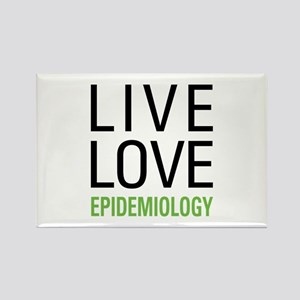 Live Love Epidemiology Rectangle Magnet
