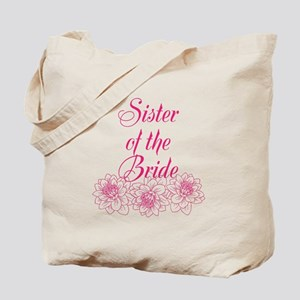 Pink Sister of the Bride Tote Bag