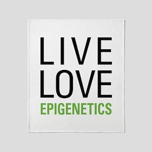 Live Love Epigenetics Throw Blanket
