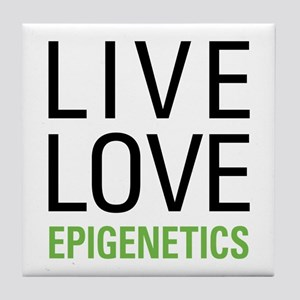 Live Love Epigenetics Tile Coaster
