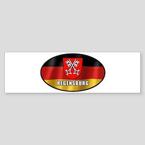 Regensburg-w Bumper Sticker