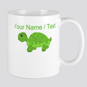 Custom Green Turtle Mugs