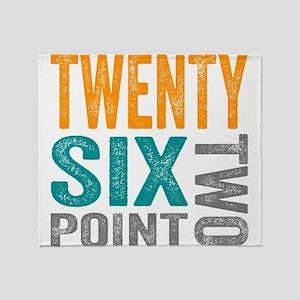 Twenty Six Point Two Marathon Motivation Throw Bla