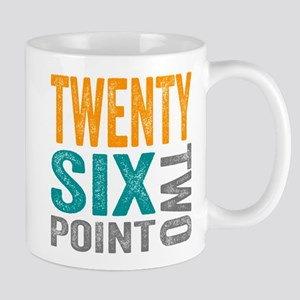 Twenty Six Point Two Marathon Motivation Mugs