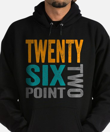 Twenty Six Point Two Marathon Motivation Hoody