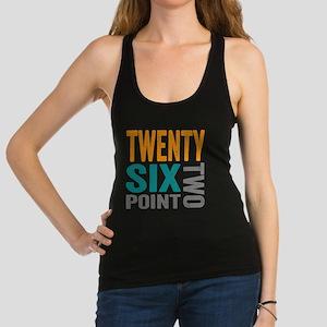 Twenty Six Point Two Marathon Motivation Racerback