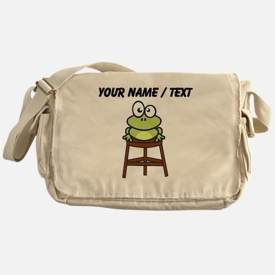 Custom Toad Stool Messenger Bag