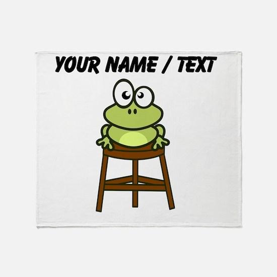Custom Toad Stool Throw Blanket