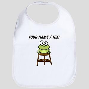 Custom Toad Stool Bib