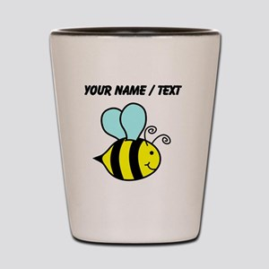 Custom Cartoon Bee Shot Glass