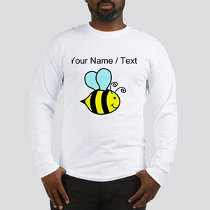 Custom Cartoon Bee Long Sleeve T-Shirt