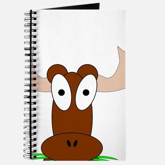 Custom Brown Moose Journal