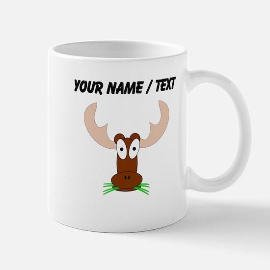 Custom Brown Moose Mugs