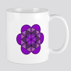Crown Flower of Life Mug