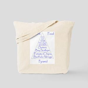 New York Food Pyramid Tote Bag
