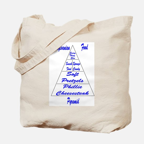 Pennsylvanian Food Pyramid Tote Bag