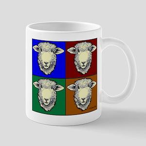 Romney Sheep Pop Art Mugs