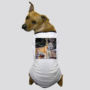 Tiger in the woods Dog T-Shirt