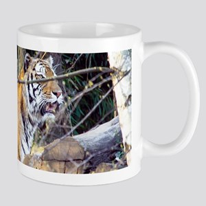 Tiger in the woods Mug
