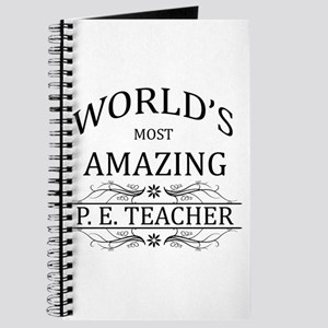 World's Most Amazing P.E. Teacher Journal