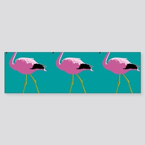 Pink Flamingos Bumper Sticker