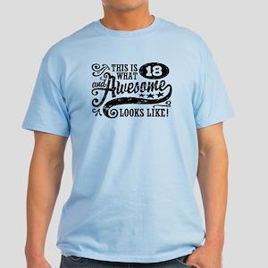 18th Birthday Light T-Shirt
