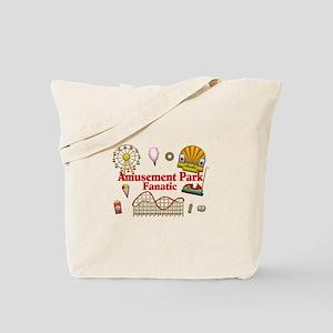 Amusement Park Fanatic Tote Bag