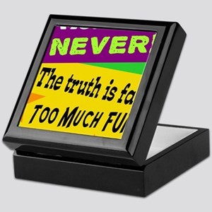 Me? Lie? Never!/Capt. Hook-Peter Pan/ Keepsake Box