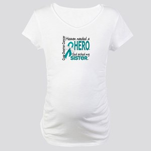 Ovarian Cancer Heaven Needed Her Maternity T-Shirt