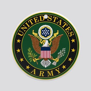 U.S. Army Symbol Ornament (Round)
