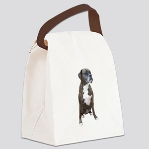 Boxer (brindle2) Canvas Lunch Bag