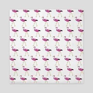 Pink Flamingo Queen Duvet