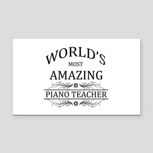 World's Most Amazing Piano Te Rectangle Car Magnet