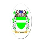 Francou 35x21 Oval Wall Decal